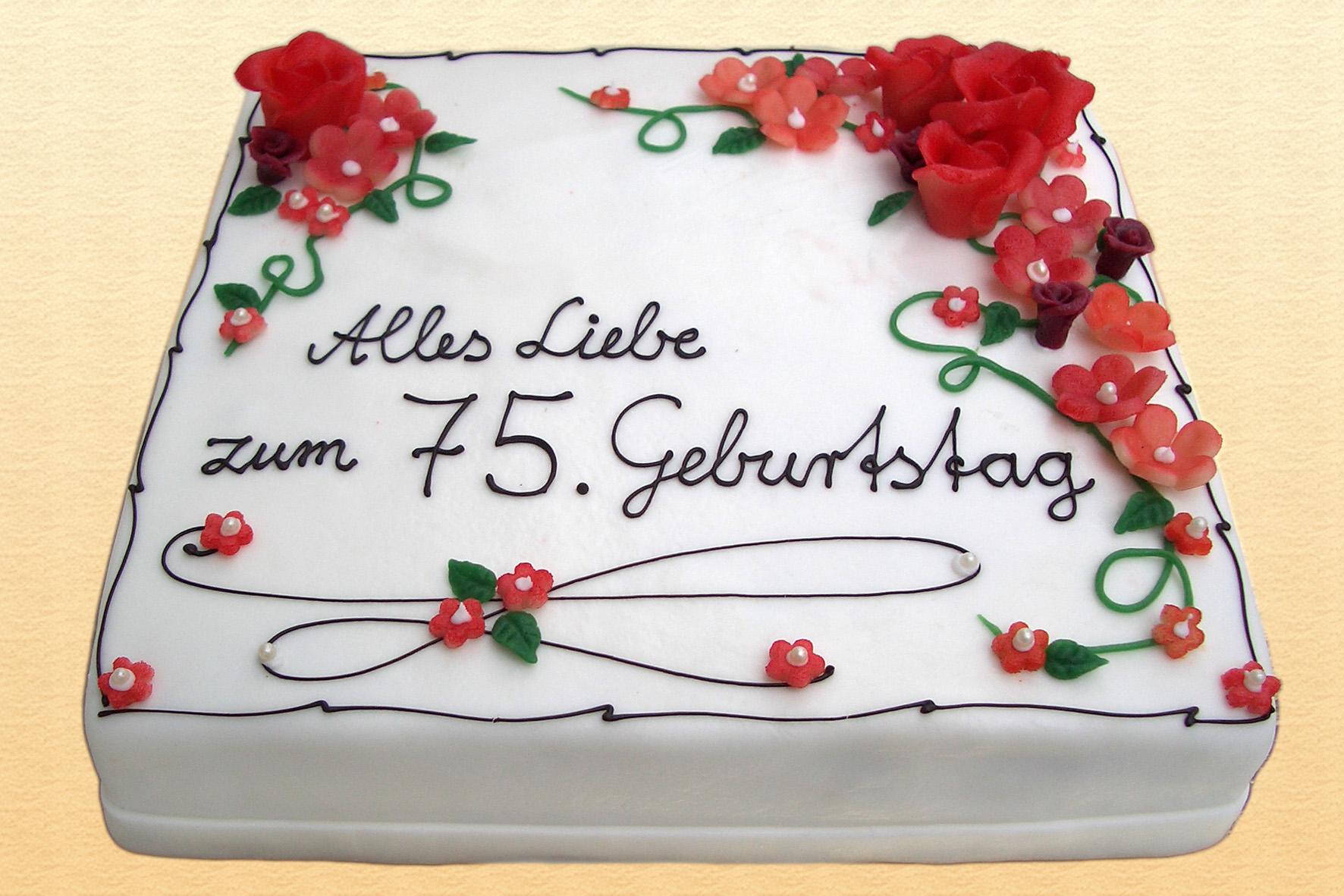Geburtstagstorte Geburtstagskuchen Mit Der Aufschrift Happy Birthday ...